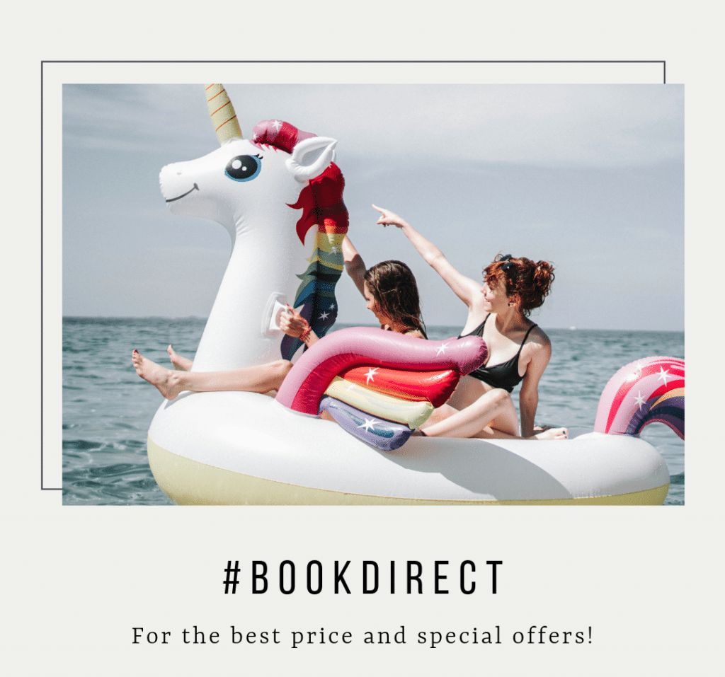 Benefits of Booking Direct